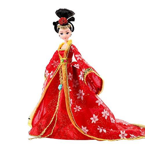 Tang-Dynastie Prinzessin Kostüm Puppe, gelegentliche Art (1)