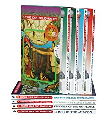 Box Set #4-3 Choose Your Own Adventure Books 9-12:: Box Set Containing: Lost on the Amazon, Prisoner of the Ant People, Trouble on Planet Earth, War w