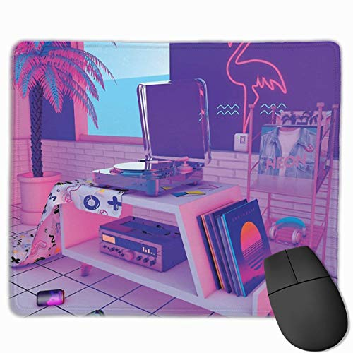 It Great To Use For Gaming/office Work.One Of The Greatest Things About This Mat, Besides Its Non Slip Rubber Base And Ergonomic Construction, Is Its Smooth Gliding Surface.Thanks To Its Optimized Craftsmanship, It Allows Your Mouse To Glide Super Fa...