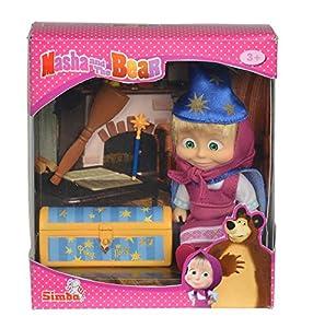 Simba Toys Masha Magic Tricks muñeca - Muñecas (Multicolor, Femenino, Chica, 3 año(s), Masha, 7 año(s))