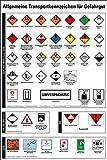 LEMAX® Aushang Allgemeine Transportkennzeichen für Gefahrgut, Kunststoff, 400x600mm
