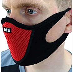 PINKIT Sports Half Face Mask Outdoor Ski Masks for Motorcycle, Bicycle Face Mask, Best Protector from Pollution (ASSORTED COLOUR)