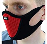 #4: PINKIT Sports Half Face Mask Outdoor Ski Masks for Motorcycle, Bicycle Face Mask, Best Protector from Pollution (ASSORTED COLOUR)
