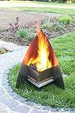 Thorwa Design Edelstahl Feuerstelle Feuerkorb Terrassenofen Feuerschale FireSpace