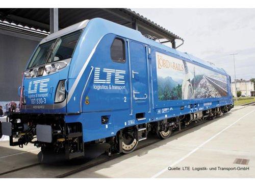 Piko 47453TT de S de Lok BR 187LTE VI, Vehículo de carril