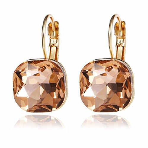 Glitz Damen Diva Fashion Shining Kristall Ohrringe für Mädchen Fancy Klassischer Schmuck Party ()