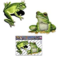 Small Green Frog Animal Car Stickers Decals Pack - ST00058_SML - JAS Stickers