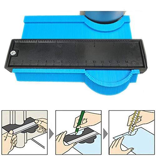 Starall 6-Zoll-Kunststoff-Konturmessgerät Duplizierer Werkzeug zum Wickeln von Rohren Holzbearbeitung -