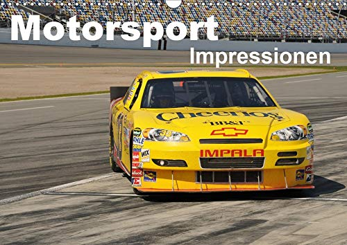 Motorsport - Impressionen (Wandkalender 2020 DIN A3 quer): 13 faszinierende Seiten aus der Welt des Motorsports in einem Kalender (Monatskalender, 14 Seiten ) (CALVENDO Sport)