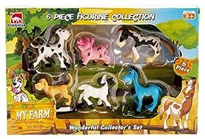 Cosas - Caja 6 Animales Granja Comic, Multicolor (728242)