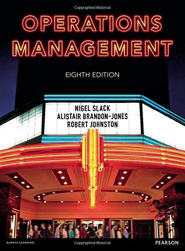Operations Management por Alistair Brandon-Jones