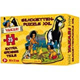 Yakari Silhouetten-Puzzle XXL in Konturenstanzung mit extragroßen Teilen: 25 Teile - ab 3 Jahren