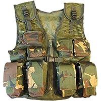 Kombat UK Kids ejército Asalto Vest, DPM Camuflaje, Talla única