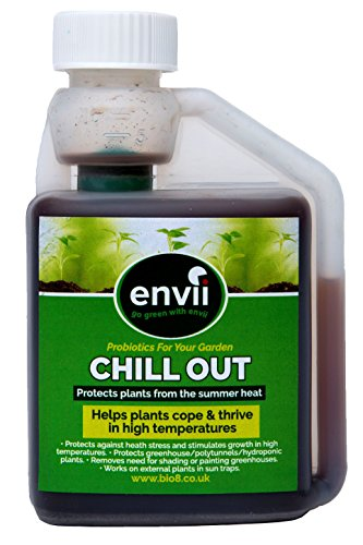 Envii Chill Out - Fertilizzante Bio-Stimolante Unico Nel Suo Genere Che Favorisce La Crescita Delle Piante In Alte Temperature - 250 ml