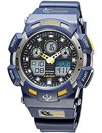 Reloj de los deportes al aire libre / reloj del estudiante / reloj de los hombres / forma electrónica impermeable , deep blue