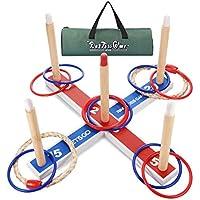 LetsGO toyz Juegos Niños 4-12 Años, Juego de Lanzamiento de Anillos Juguetes Niños 4-12 Años Regalos Niños 6-12 Años Juguetes para Niños Niñas de 8-12 Años Niños