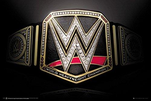 WWE Laminiert Title Belt Maxi Poster 61 x 91,5 cm