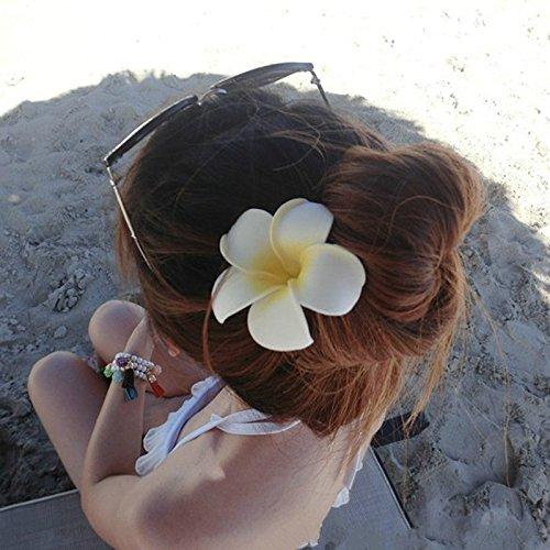 Obstschale Arbre Plumeria Blume Haar Clip Hochzeit Brautschmuck Haarspange Haarspange Haar Zubehör