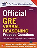 Official Gre Verbal Reasoning Practice Questions (Old Edition)