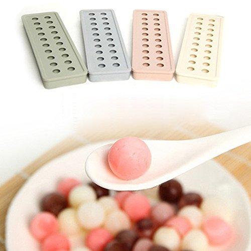 W. Air Silikat Ice Cube Tray Ice Ball Maker cwithy Schokolade Formen Werkzeug für Haus Küche Bar (weiß) (Schokoladenformen Haus)