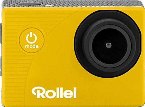 Rollei Actioncam 372 - Action-Camcorder mit Full HD Video Auflösung 1080/30 FPS, bis 30 m Wasserfest - Gelb