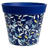 Hum Blumentöpfe, Blaue Vogel- und Asttöpfe, Innen- und Außenpflanzgefäße