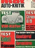 "\""MOT - auto kritik\"", Heft 12/1968, Tests: Vespa-Klappfahrrad - Citroen ID 19 \""Die Göttin\"" - Zuggespann-Fahrbericht: Opel Kadett 1700 S mit Wilk Stern 310 - Lesererfahrungen: Peugeot 204 GL - Fiat T 600"