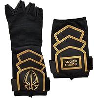 Roman Reigns Gold Logo WWE Authentic Superman Juego de guantes de boxeo