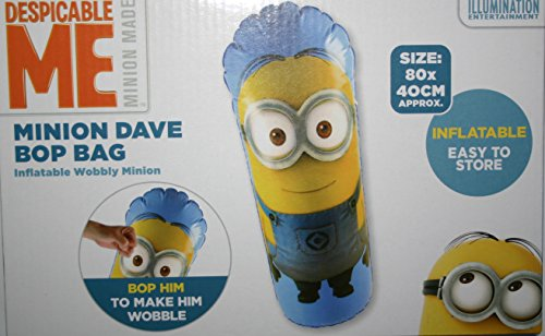 tel Kinder Despicable Me Minion Dave oder Kevin 3D Außen Innen Spielzeug - Minion Dave (Aufblasbarer Minion Despicable Me)