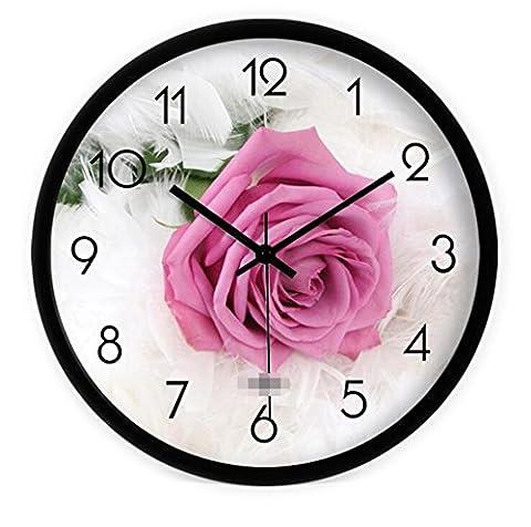 Sucastle Modern wall clocks, creative wall clocks, art wall clocks, living room clocks, mute wall clocks, wall clocks, clock 12