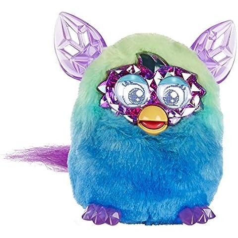 Furby - Muñeco de la Serie Boom Crystal 'Ombre' - Verde / Azul