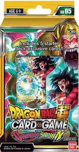 Dragon Ball Super TCG Series 5 Crimson Saiyan Starter Deck (English)