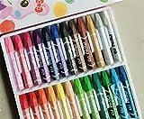 Jeephuer Überlegen 36 Stück Farbe Öl Pastell Wachsmalstift Kit ungiftig Multicolor Kinder Zeichnung Stift