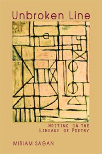 Unbroken Line: Writing in the Lineage of Poetry by Miriam Sagan (1999-06-01) par Miriam Sagan;First Last
