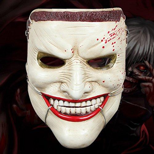 Halloween Props Collector's Edition Film Theme Terror Resin Maske Teppich Death Family Maske