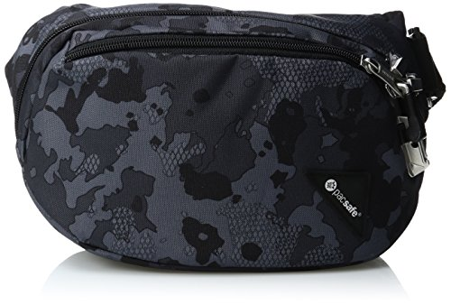 Pacsafe Vibe 100 Anti-Diebstahl Hüfte Taille Pack, Grau Camo