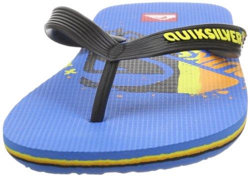 QuiksilverMOLOKAIMWLOGO M SNDL XBKY - Scarpe da Spiaggia e Piscina Uomo Multicolore (Mehrfarbig (BLU/BLK/YELLOW))