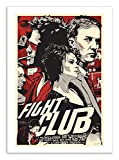 Wall Editions Art-Poster - Fight Club - Joshua Budich