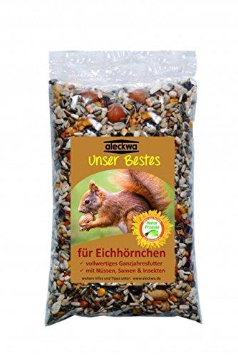 aleckwa Eichhörnchenfutter Unser Bestes Inhalt 700 g