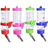 Pets Empire Pet Dog Rabbit Water Drinker Dispenser Cat Bird Hanging Bottle Auto Feeder 250ML(Color May Vary)