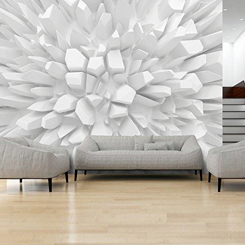 murando Papier peint intissé 400x280 cm Décoration Murale XXL Poster Tableaux Muraux Tapisserie Photo Trompe l'oeil abstraction 3D optique a-A-0134-a-a