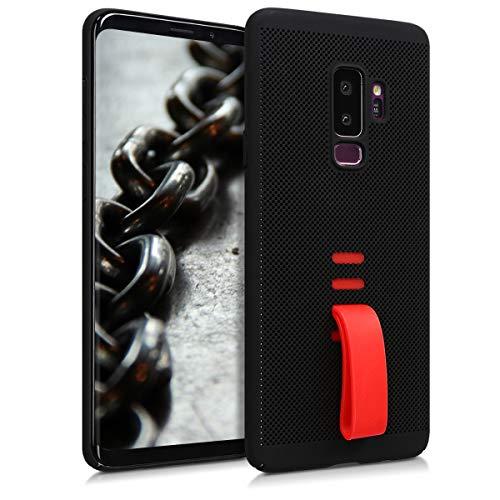 kwmobile Samsung Galaxy S9 Plus Hülle - mit integriertem Fingerhalter - Handy Cover Case für Samsung Galaxy S9 Plus