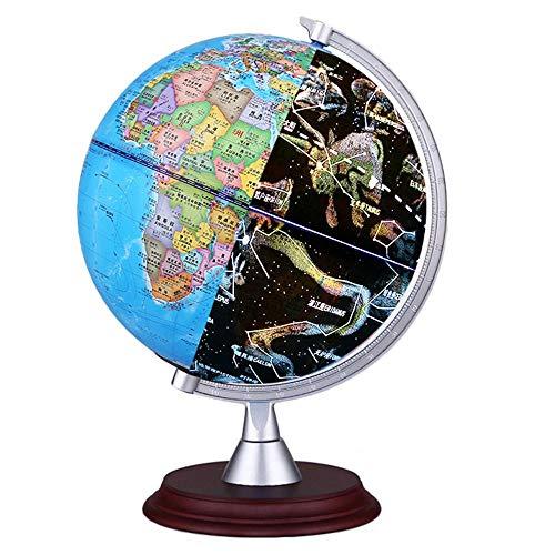 FOONEE AR 3D-Weltkugel 3-in-1, Beleuchtete Kugel für Kinder, Kleine Weltkugel Tagesansicht und Nachtsicht Weltkarte, interaktiver Globus für Kinder und Erwachsene