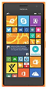 Nokia Lumia 735 Smartphone, 8 GB, Arancione [Italia]