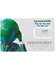 LYCA Lycamobile USA SIM Card Unlimited Plan 02 - 6GB at 4G