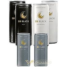 28 Black Mixed Energie 2x Acaí, 2x Akai Zero, 2x Classic 6 x 0,25 Liter