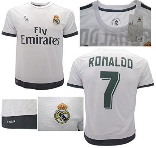 Maglia Real Madrid Cristiano Ronaldo 7 Replica Ufficiale Size 10