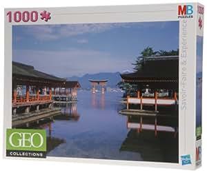 MB Puzzles - 357772860 - Puzzle Géo - 1000 Pièces - Itsukushima, Japon