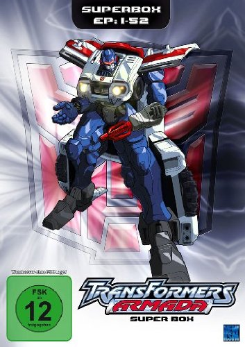 Transformers: Armada - Superbox (Episoden 01-52) [4 DVDs] (Transformers Dvd Box Set)