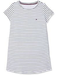 Tommy Hilfiger SS Dress Stripe, Camisón para Niñas